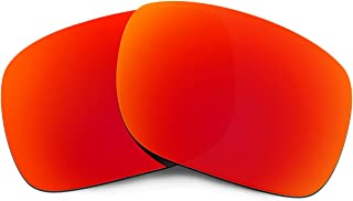 HKUCO Plus Mens Replacement Lenses For Oakley Holbrook Sunglasses Red Polarized