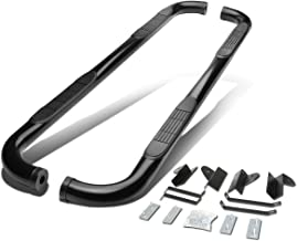 For Ford F150 10th Gen Supercrew Cab 3 inches Side Step Nerf Bar Running Board (Black)
