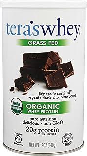 Tera's Whey Organic Protein, Dark Chocolate, 12 oz