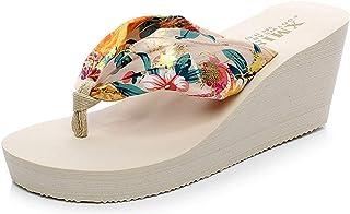 [KIFBO] サンダル ビーチファッション女性スリッパビーチサンダル日常着用オフィス 自宅用 室内履き 夏