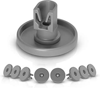 Lot de 8 roulettes pour panier inférieur de lave-vaisselle Electrolux 5028696500/4