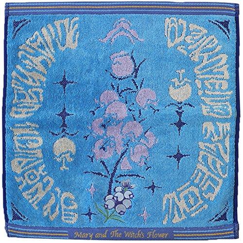 丸眞 ハンドタオル メアリと魔女の花 約34×35cm フラワーブック 3835000100