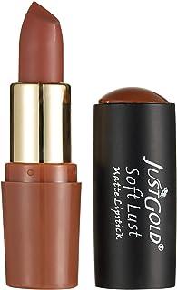 Just Gold Soft Lust matte Lipstick - 3.8 g, 05