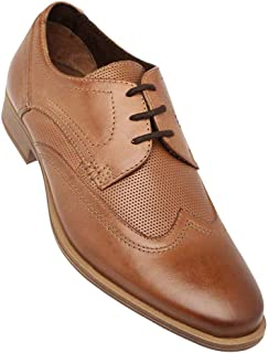 Venturini Mens Leather Lace Up Derby
