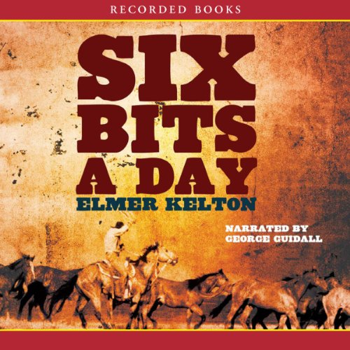 Six Bits a Day audiobook cover art