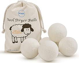 Wool Dryer Balls 6-Pack XL Laundry Dryer Balls Reusable Natural Fabric Softener New..