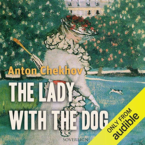 The Lady with the Dog audiobook cover art