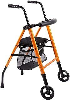 Andadores de ruedas Carro de la compra de Walker - Caminador multifuncional Walker de Old Man / Soporte para caminar para discapacitados Marco de pie de pie ...
