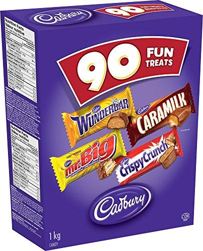 Cadbury Fun Treats Chocolate, 90 Count
