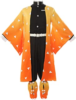 ROLECOS Japanese Traditional Kimono Outfit Anime Cosplay Costume Halloween Party
