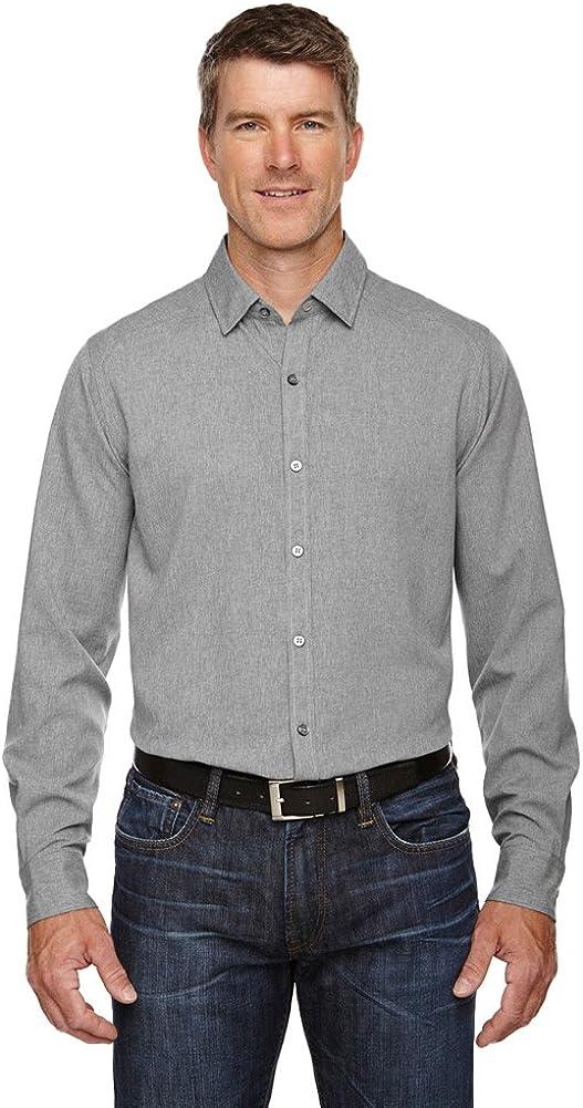 North End Sport Men's Mélange Lt Max 79% OFF 100% quality warranty Medium Heat Performance Shirt