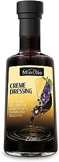 MIOOLIO Creme Dressing - Premium – Aceto Balsamico di Modena IGP & Original Parmigiano Reggiano – 250ml Fruchtiger Balsamico – Anerkanntes Top-Produkt – Süß-fruchtiger Geschmack – Glutenfrei