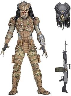 "NECA Predator 2018: Ultimate Emissary #2 7"" Scale Action Figure, Multicolor"