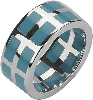 COBRA jr624agbu-anae-women ' s 925纯银戒指 / 1000金树脂3µ-blue