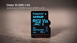SanFlash Kingston 64GB React MicroSDXC for Verykool Dorado s5017Q with SD Adapter 100MBs Works with Kingston