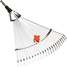 GARDENA combisystem bladhark: Bladhark met werkbreedte van 30 tot 50 cm, tuingereedschap voor aanvegen van bladeren of gem...