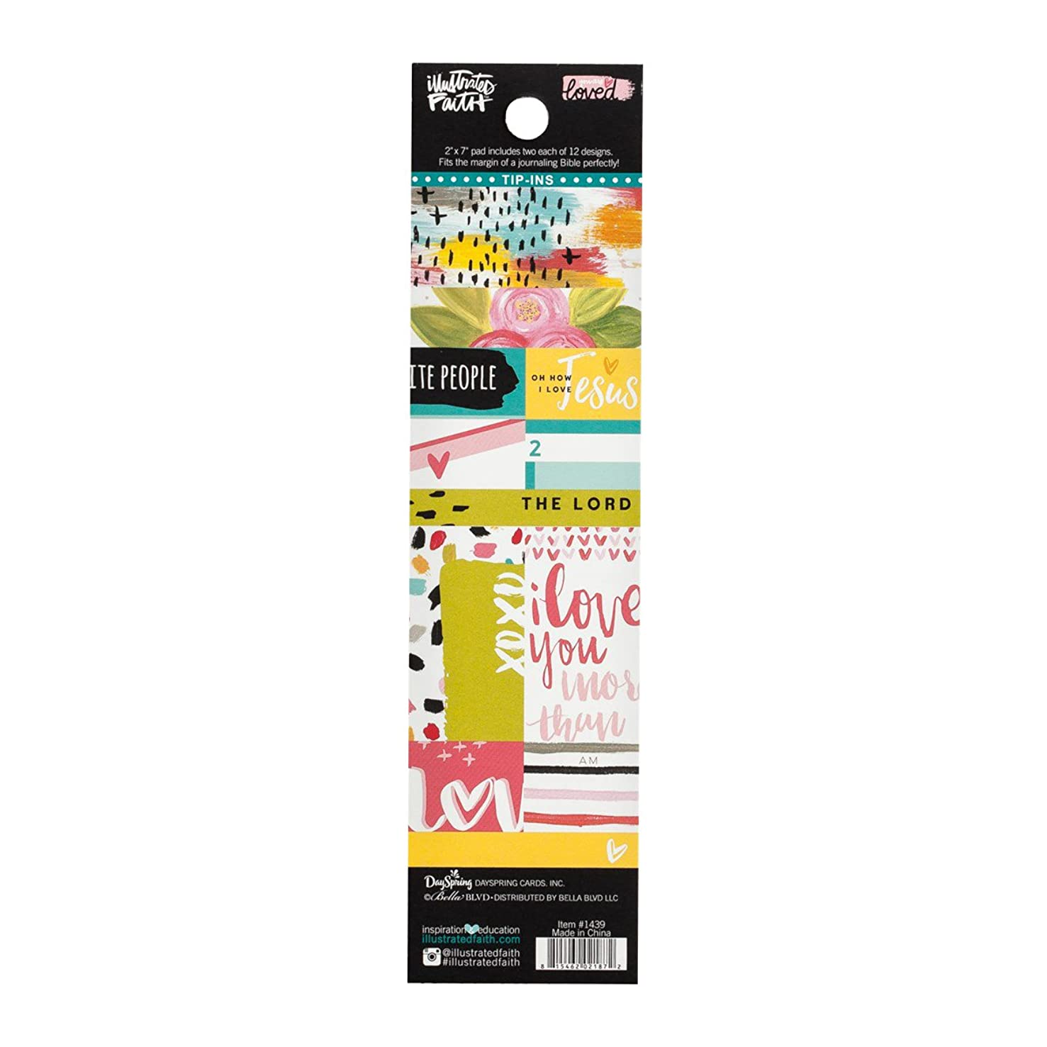 Illustrated Faith - Fashion Bookmarks - Love You