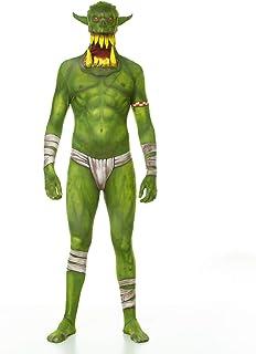 Morphsuits - Orc Jaw Dropper Morphsuit Erwachsene Kostüme