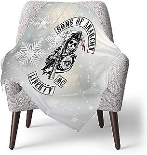 Ahdyr Sons of Anarchy Stilvoller und komfortabler Autositzbezug Flacher Universal-Autositzbezug