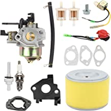 Hayskill 16100-ZE2-W71 Carburetor with 17210-ZE2-515 Air Filter for Honda GX240 8HP GX270 9HP Engine 270cc Water Pump Carb Replace 16100-ZH9-W21