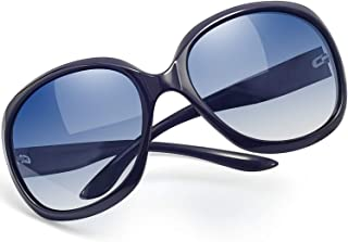 Polarized Sunglasses for Women Vintage Big Frame Sun...
