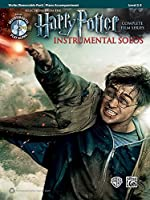 Selections from the Harry Potter Instrumental Solos: Piano Accompaniment Level 2-3, Complete Film Series (Instrumental Solo Series)