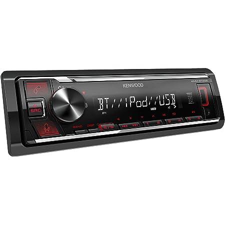 Kenwood Kmm Bt206 Usb Autoradio Mit Bt Freisprecheinrichtung Alexa Built In Hochleistungstuner Soundprozessor Usb Aux Spotify Control 4 X 50 Watt Tastenbeleuchtung Rot Navigation