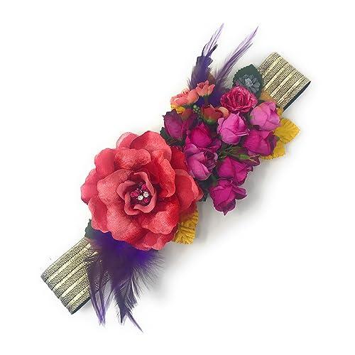 c6b83fd3 Cinturones con flores: Amazon.es