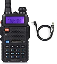 Best Baofeng UV-5RTP Tri-Power 8/4/1W Two-Way Radio Transceiver (UV-5R Upgraded Version with Tri-Power), Dual Band 136-174/400-520MHz True 8W High Power Two-Way Radio + 1 Programming Cable Review