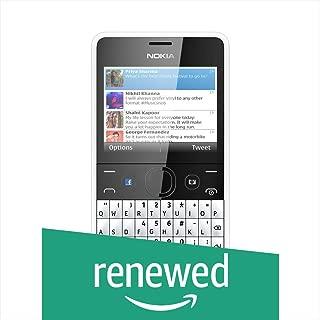 (Renewed) Nokia Asha 210 (White)
