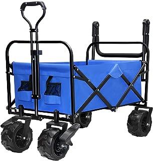 Outdoor Carts Patio, Lawn & Garden Folding Wagon Cart Garden ...