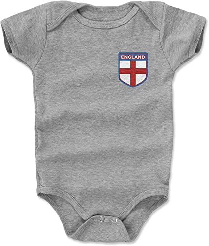 England Baby Bodysuit 100/% Cotton Soccer Country Flag T-Shirt All Seasons Infant