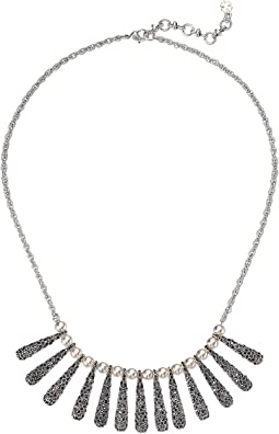 Pave Spike Collar Necklace