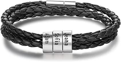 nom bracelet homme perle