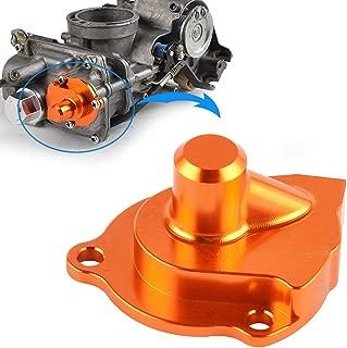 Nicecnc Orange Accelerator Pump Cover Replace ALL Motorcycles ATVs with Keihin FCR Carb,Suzuki Kawasaki KTM,Honda CRF 250R/X 450R/X TRX450R,Yamaha YZ250/450F/YFZ450,WR250F/426F/450F