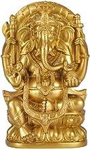 Seyee-bro Elephant Buddha Ganesh Sculpture - Hindu God Lord Ganesha Idol Statue -Hindu Home Mandir Diwali Decoration
