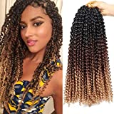 Best Hair For Crochet Braids - 7 Packs Passion Twist Hair Braids 18 Inch Review