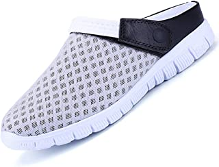 Unitysow Mens Womens Breathable Mesh Slippers Beach Sandals Garden Clogs Hollow Out Outdoor Sports Casual Summer Shoes Lig...