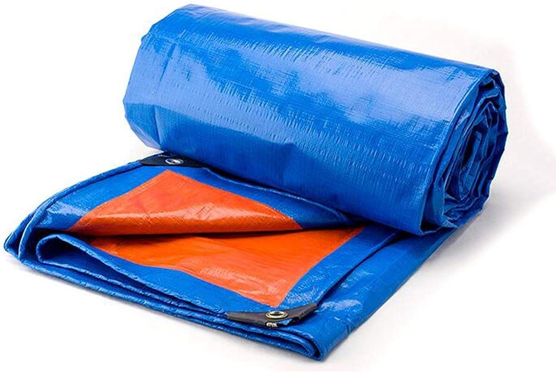 Plane Verdicken Blau-Orangen Farbstreifen-Sonnenschutz-Regendichtes Tuch-regendichte Plastikplane-Segeltuch-Überdachungs-Segeltuch Lostgaming B07HG2JV4Q  Trend Trend Trend cf8f72