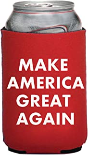 Funny Guy Mugs Make America Great Again Collapsible Neoprene Can Coolie - Drink Cooler