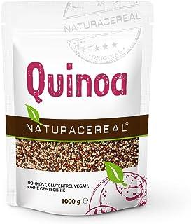 Semillas de Quinoa Tricolor (blanca/roja/negra) 1 kg - NATURACEREAL