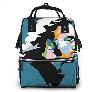 Luiertas Rugzak, JOJOshop Sketch Pop Art Grote Multifunctionele Reis Rugpakket, Grote Capaciteit, Waterdicht en Stijlvol
