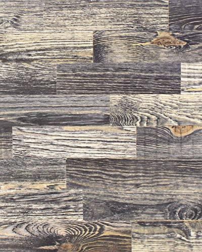 wodewa Rivestimento Murale Legno Stile Vintage Shabby Chic I 1m² Pannelli Murali Rivestimento Parete Legno Decorazioni Pareti Pannello Decorativo Cucina Cameretta V006