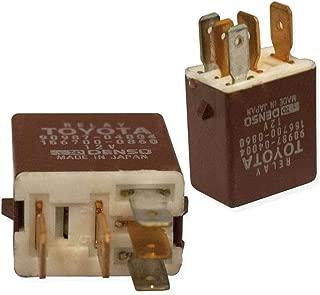 2 Pack 90084-98032 90987-04004 TN156700-1062 Multi Purpose Relay 12v 5 Pin for Toyota Lexus Scion