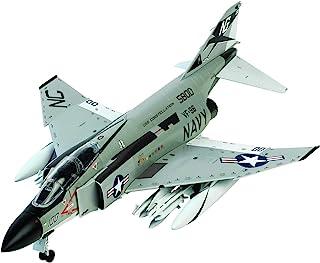 童友社 1/72 凄!プラモデル No.1 アメリカ海軍 F-4JファントムII ショータイム100 色分け済みプラモデル