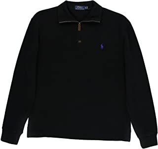 Polo Ralph Lauren Mens French-Rib Half-Zip Pullover