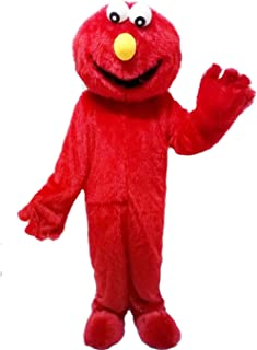Elmo Red Monster Mascot Costume Cartoon Costume