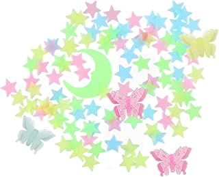 Glow in The Dark Stars Stickers for Ceiling, 208 PCS...