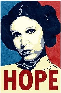 Hope Propaganda Laminated Dry Erase Sign Poster 12x18