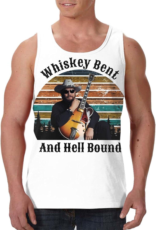Hank Williams Jr Tank Top Men's Summer Fashion Sleeveless T Shirt Sport Gym Vest